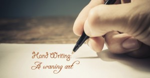 Writing-A-waning-art