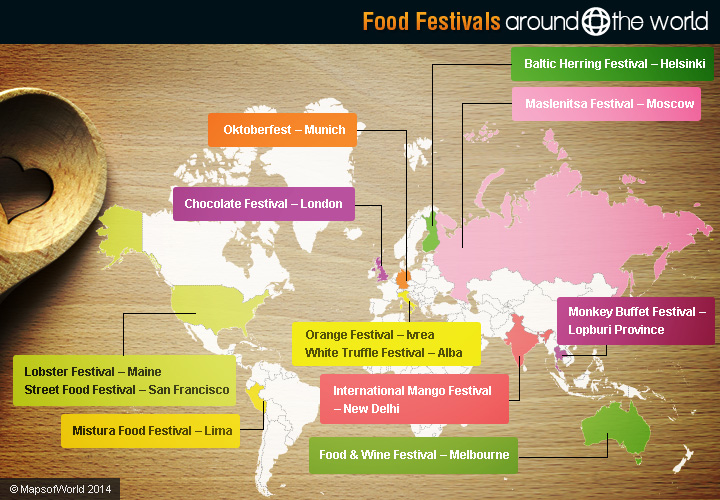Food Festivals Around The World Around The World