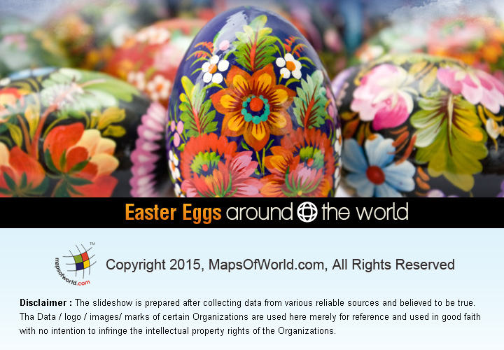 Easter Eggs Around The World Around The World