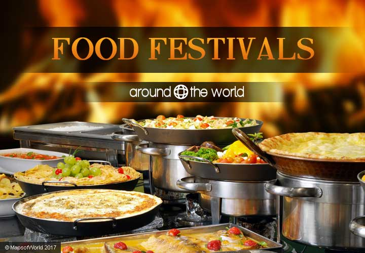 Food festivals around the world around the world for Around the world cuisine