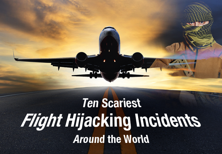 Hijacking Incidents from Across the World