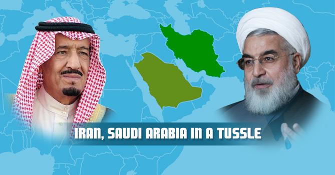 Iran, Saudi Arabia in a tussle