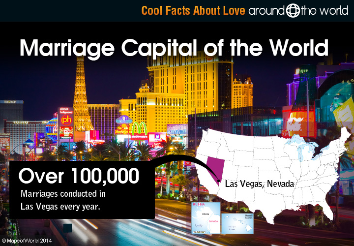 Interesting facts about love around the world for Amazing facts about las vegas