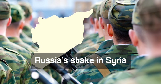 Russia's stake in Syria
