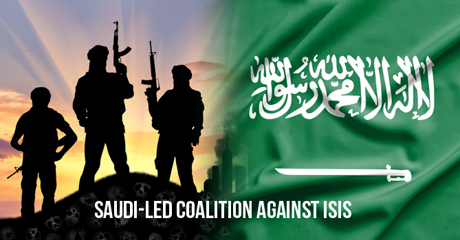 Saudi-led coalition against ISIS