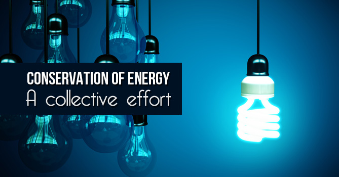 Conservation of Energy: A collective effort