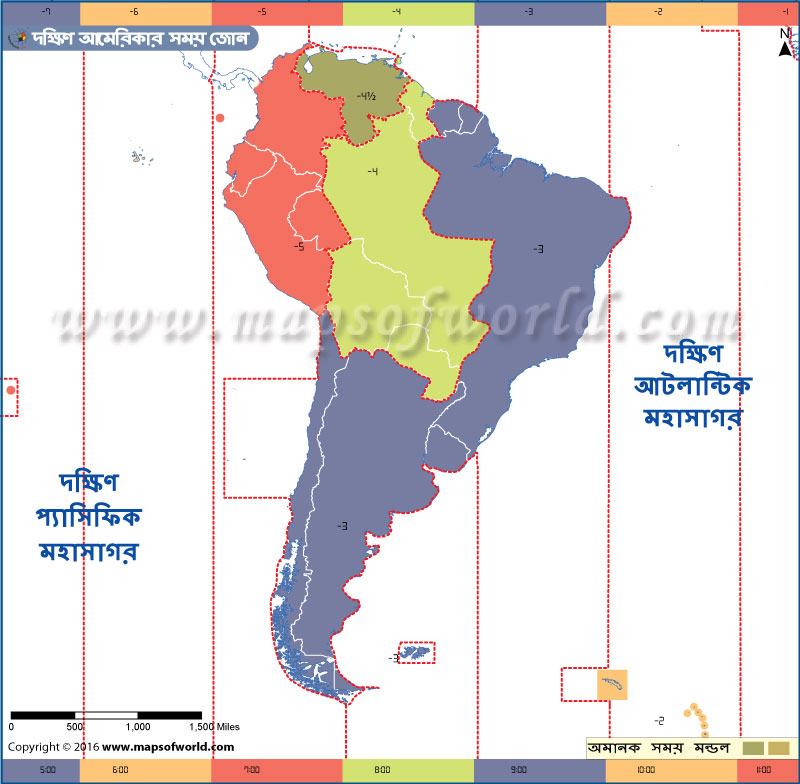south-america-time-zone-bangla