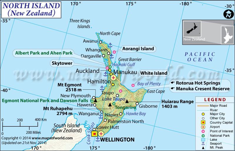 North Island New Zealand Zip Code