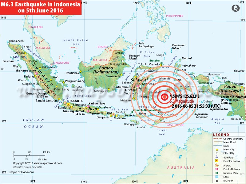 m6 3 earthquake in indonesia