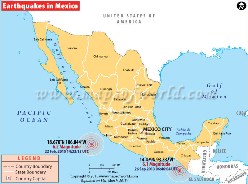 Earthquakes in Mexico
