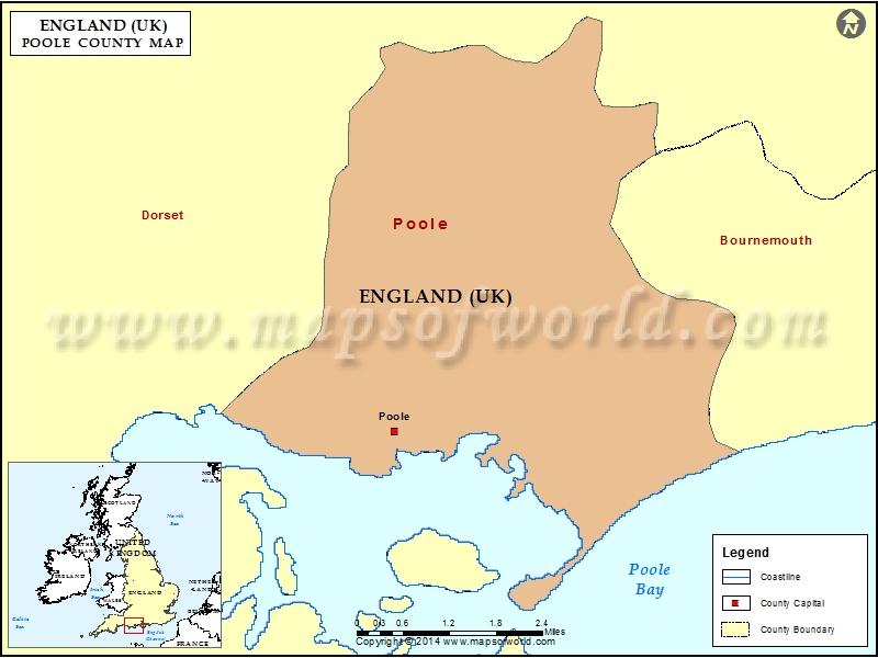 Poole Map