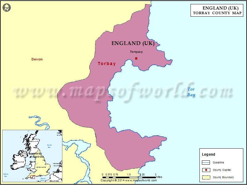 Torbay Map
