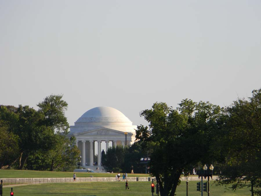 El monumento a Thomas Jefferson en Washington, D.C., Estados Unidos