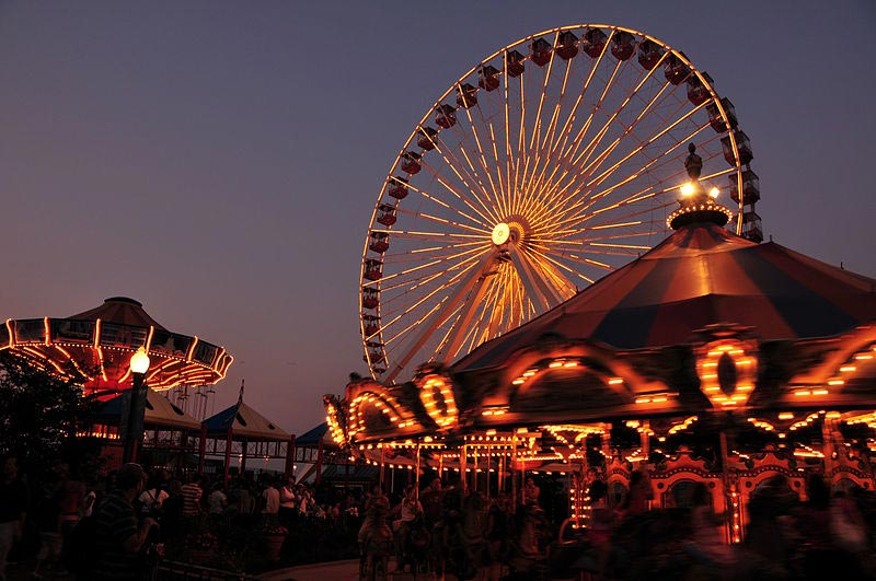 Navy Pier en Chicago, IL