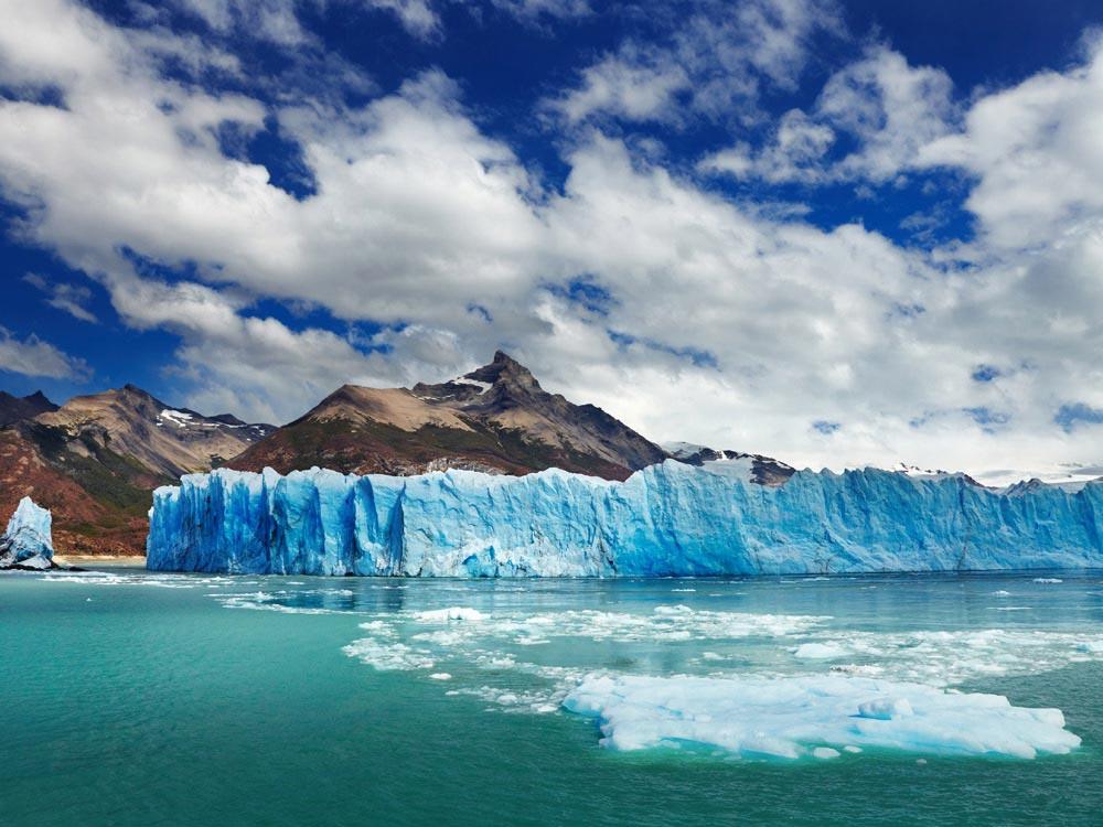 Glaciar Perito Moreno en Patagonia, Argentina