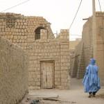 Calles de Tombuctú en Mali