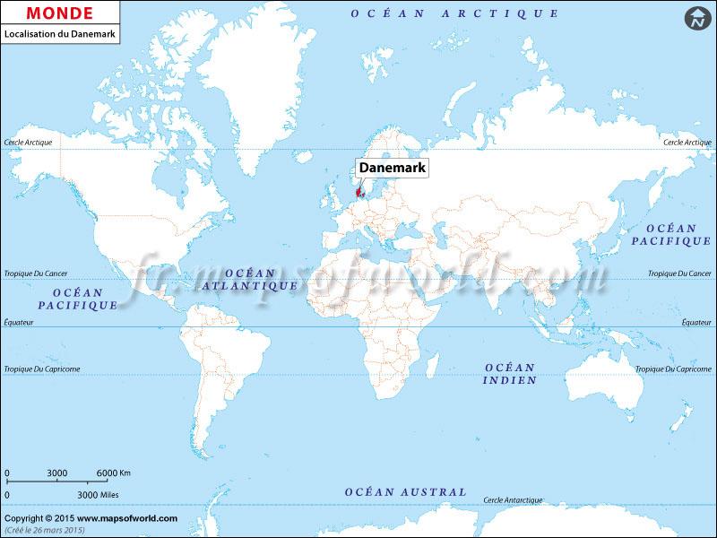 Où est le Danemark