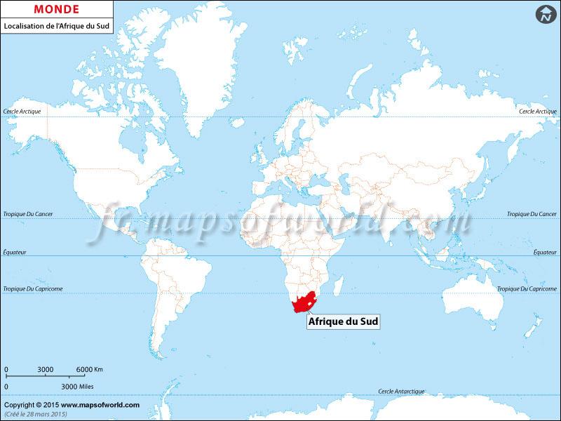 carte-du-monde-afrique-du-sud