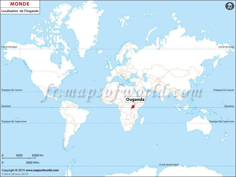 Où est l'Ouganda