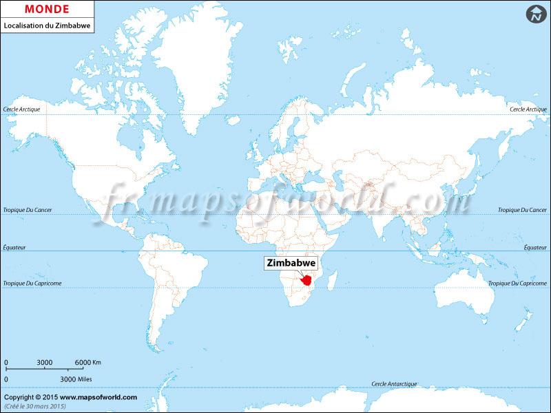 Où se trouve le Zimbabwe