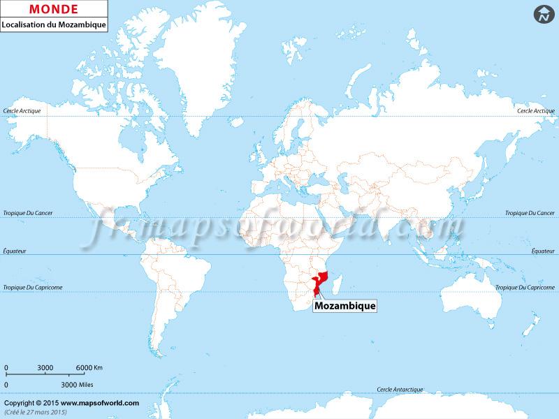 Où est Mozambique