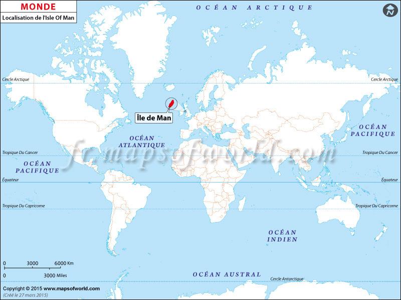 Où est l'île de Man