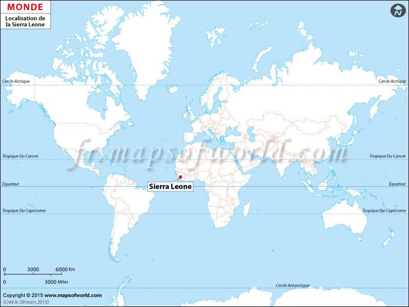 Où est Sierra Leone
