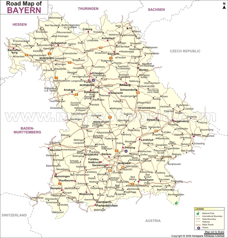Bayern Road Map