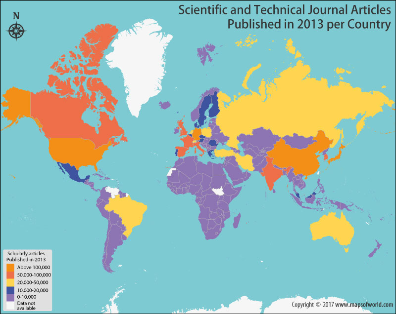 Get to Know the Number of Scholarly Articles Published in 2013