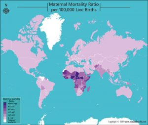 Get to Know the Maternal Mortality Ratio by Country