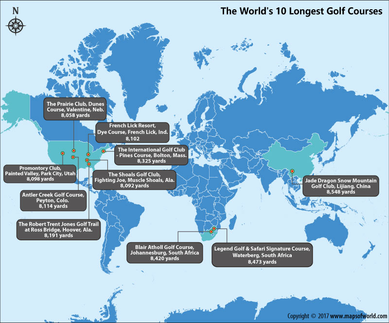 the-worlds-longest-golf-courses-map