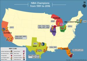 Get to Know the Top NBA Teams in the Past 25 Years