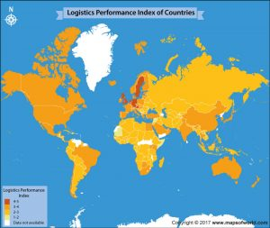 Get an Insight Into the Logistics Performance Index Across the World