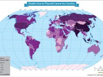 China Witnessed the Most Deaths From Thyroid Cancer