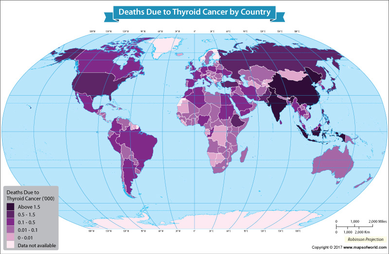Get to Know the Number of Deaths From Thyroid Cancer