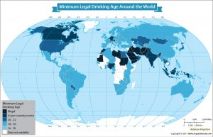 Get to Know What is the Legal Drinking Age Around the World