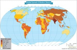 Get to Know the number of people in Modern Slavery