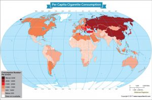 Get to Know the Per Capita Cigarette Consumption