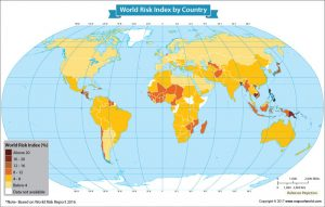 Get to Know the World Risk Index of Each Nation