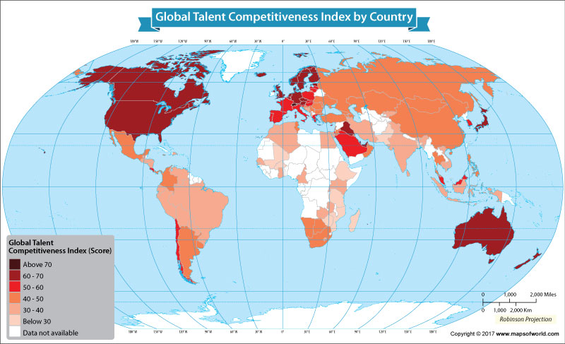 Get to Know the Global Talent Competitiveness Index of Each Nation