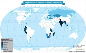 Get to know the employment in informal economy by country