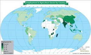 Get to Know the Percentage of Population Employed in the Agriculture Sectorny Country
