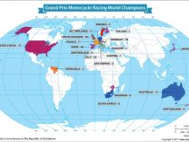 Countries With the Most Grand Prix Motorcycle Racing World Championships