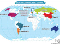 Winners of the FIVB Beach Volleyball World Championships