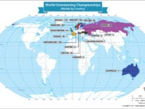 Winners of the World Orienteering Championships
