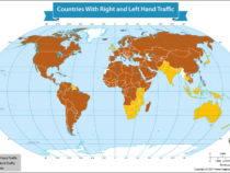 A Guide to Which Countries Drive on the Right Side or the Left