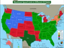 Maximum Speed Limit in the United States