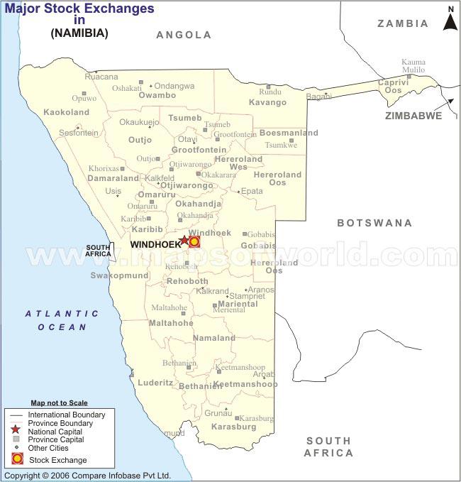 Namibia Rail Map