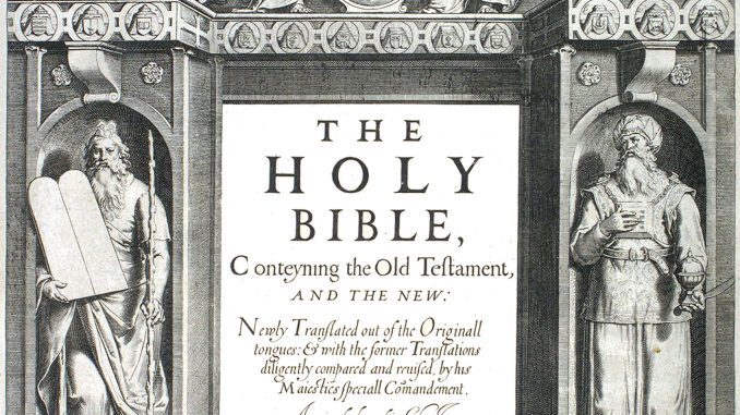 May 2 1611 - The King James Bible is Published for the ...