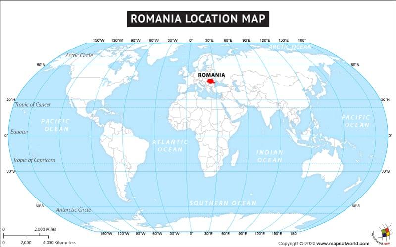 Romania On Map Of Europe.Obryadii00 Map Of Romania Europe